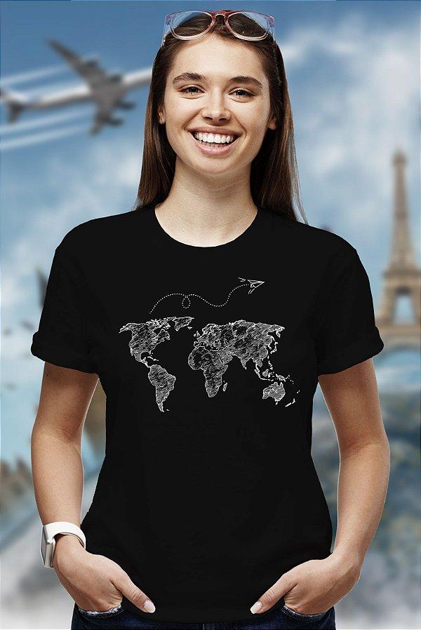 Tô no mundo (T-shirt Unissex)
