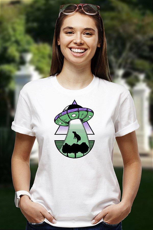 Abdução da Capivara (T-shirt Unissex)