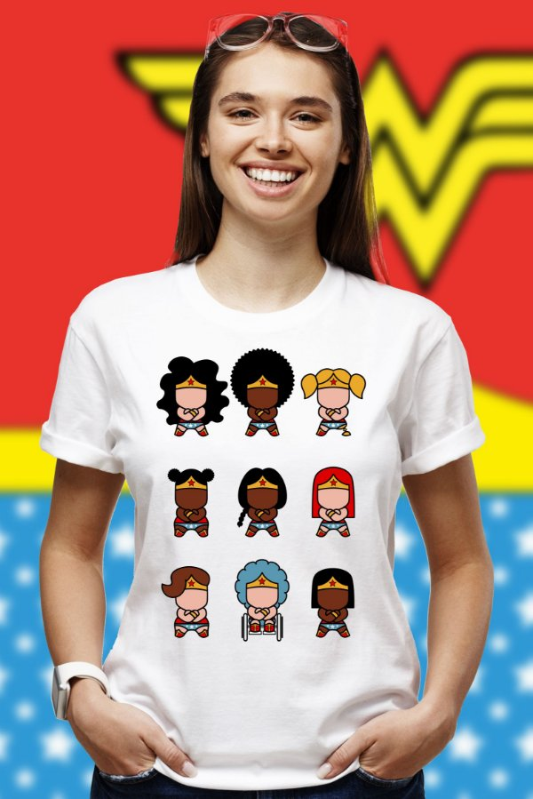 Mulheres Maravilhas (T-shirt Unissex)