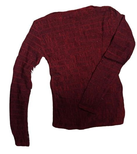Blusa tricô manga longa inverno Feminina - Tamanho Único