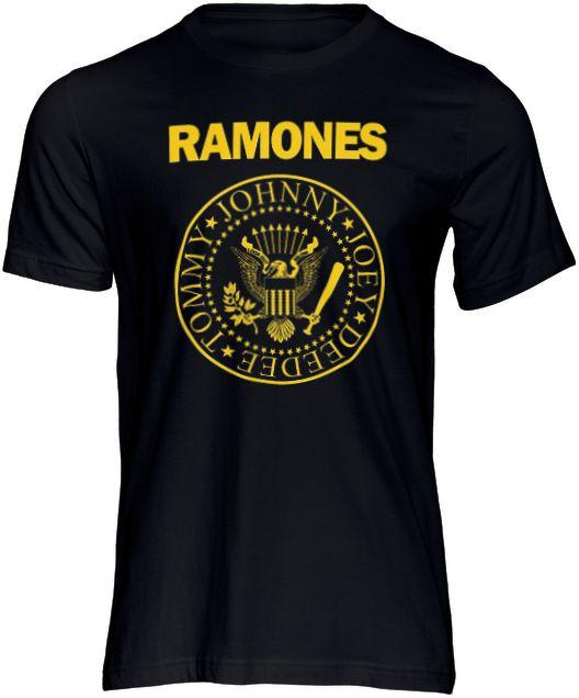 Camiseta Ramones Camisa Rock Punk Bandas Moda Geek