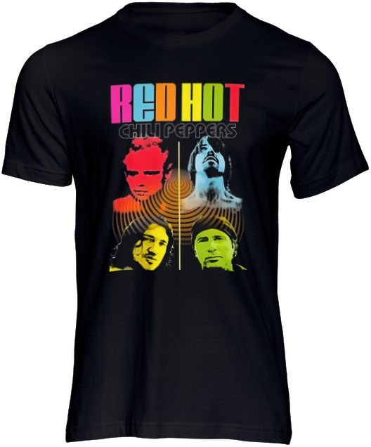 Camiseta Masculina Banda Rock Red Hot Chili Peppers Musica