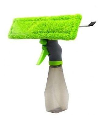Rodo Com Spray Limpa E Seca Para Janelas E Vidros