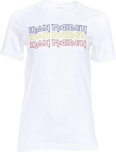Camisa Camiseta Rock Iron Maiden 100 % Algodão