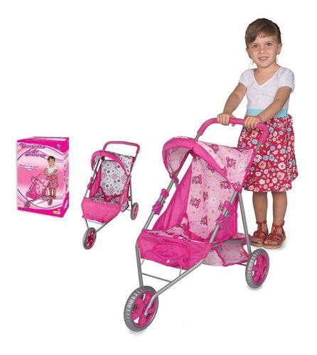 Carrinho De Boneca Bebe Reborn Rosa Baby Alive Ninos
