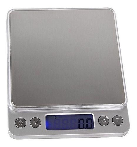 Mini Balança Digital Alta Precisão Pesa De 0,1g-2000g - Viv