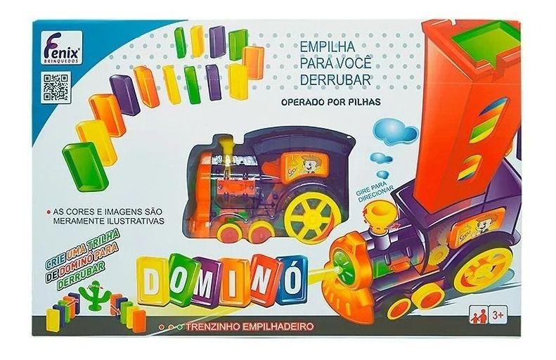 Brinquedo Trenzinho Infantil Empilhadeiro Dominó Fenix 2006