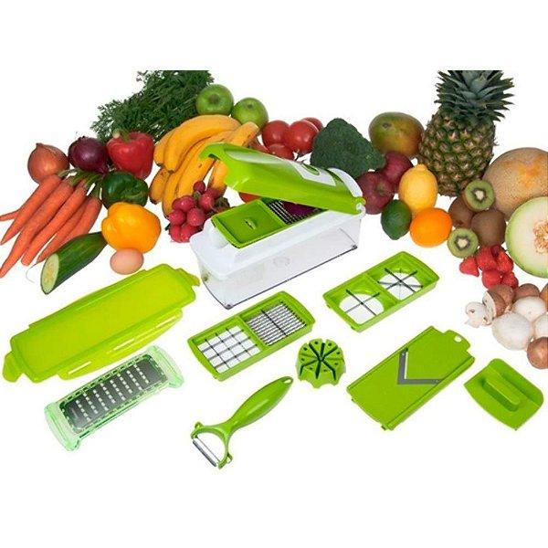 Cortador E Fatiador De Legumes, Frutas E Verduras - Nicer Di