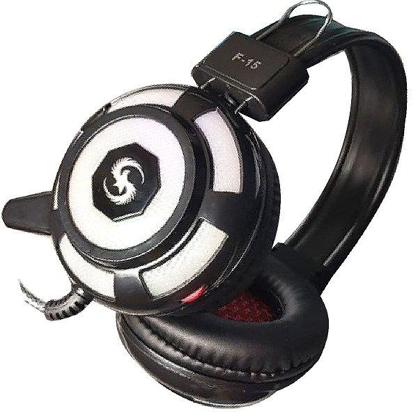 Fone headset Gamer com adaptador XBOX PS4 E PC