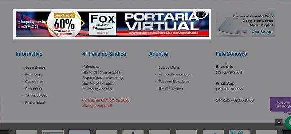 Banner Rodapé Grande