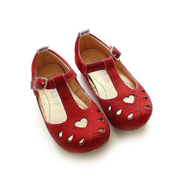 Sapatilha Love Nobuck Red