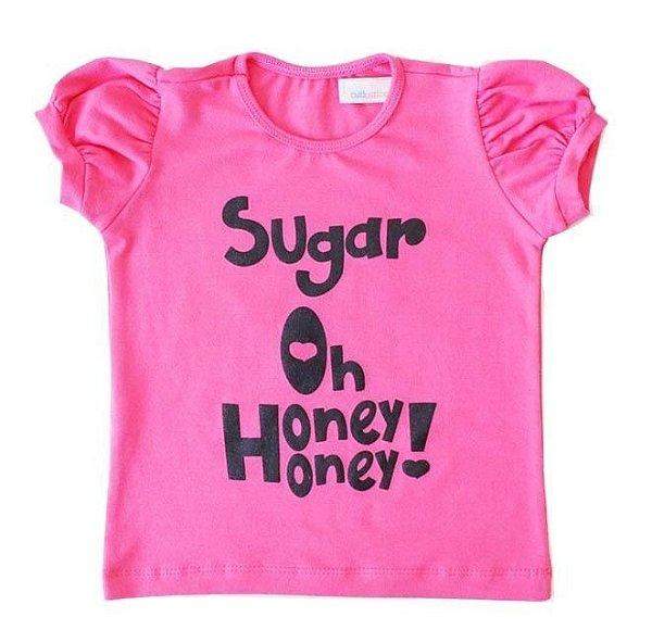 T-shirt Sugar Chiclete