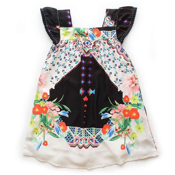Vestido Bata Pompom Chuvisco de Amor