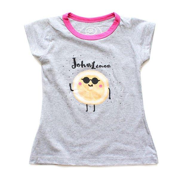 T-shirt Batinha John Lemon