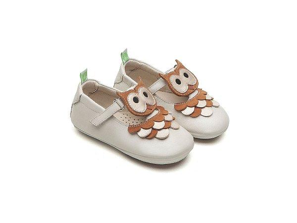 Sapatilha Owlly Tapioca