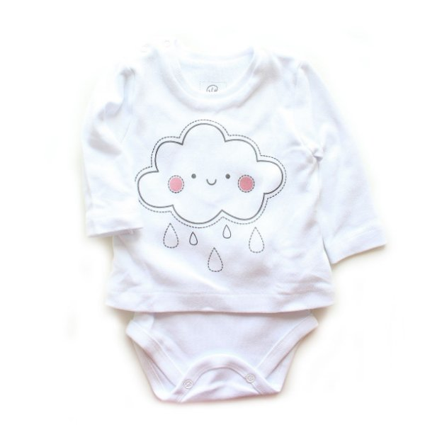 Body Camiseta Nuvenzinha