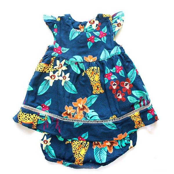 Vestido Baby Onça Pintada