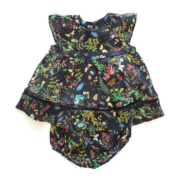 Vestido Baby Festa dos Bichos