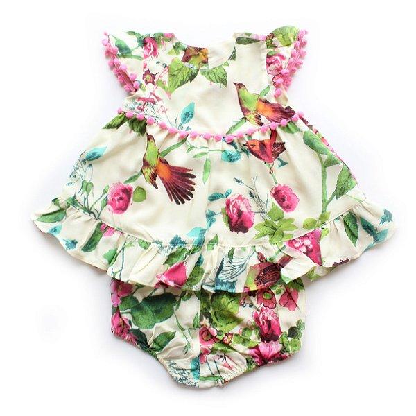 Vestido Baby Passarinho