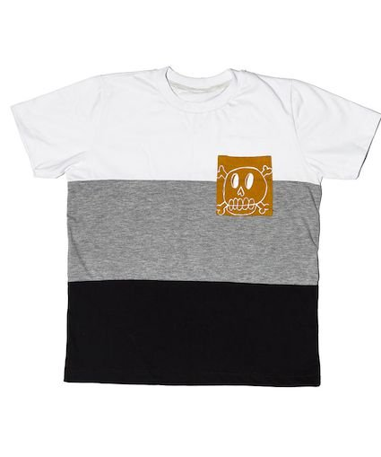T-shirt Skull Recortes