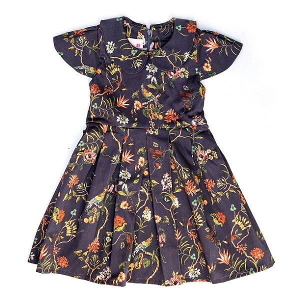 Vestido Gola Boneca Mila