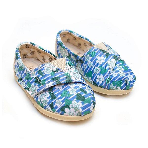 Alpargata Perky Blue Flora