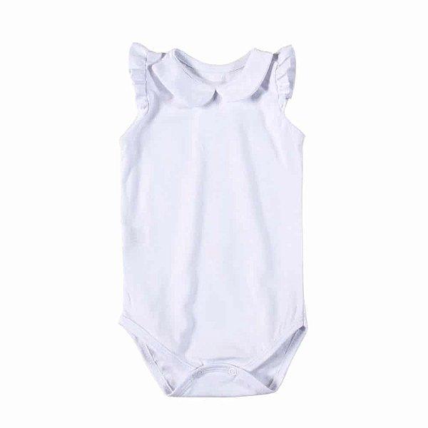 Body Gola Boneca Branco