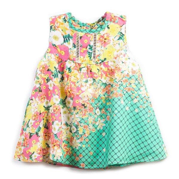 Vestido Baby Jardim Encantado