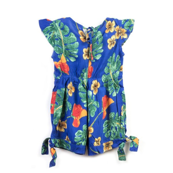 Macacão Baby Costela de Adão Azul