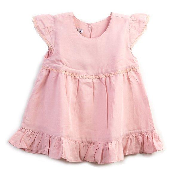 Vestido Baby Rosa Vintage