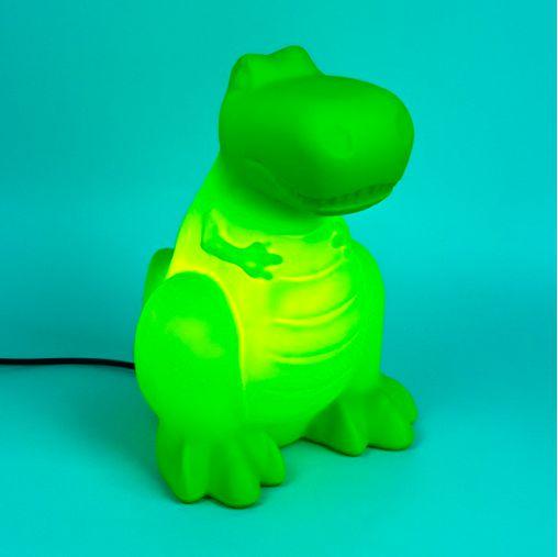 Luminária Dino Verde