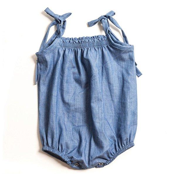 Macacão Romper Jeans