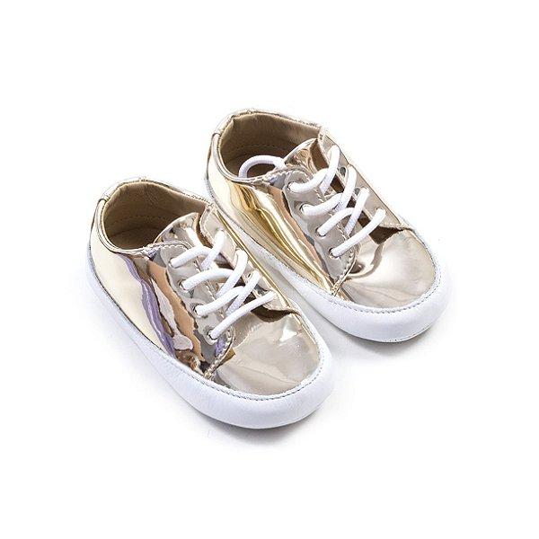 Tênis Baby GLAM Dourado