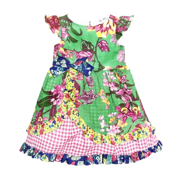 Vestido Junino Babadinho - Mix Estampas