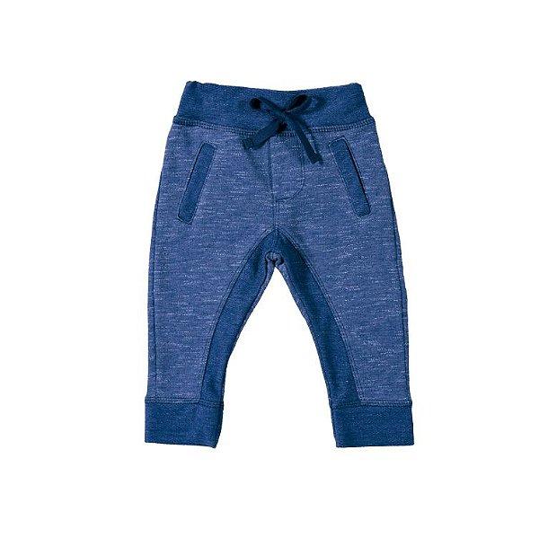 Calça Jogger Moletinho Jeans
