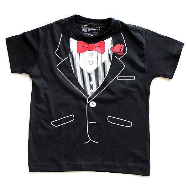 T-shirt Black Tie