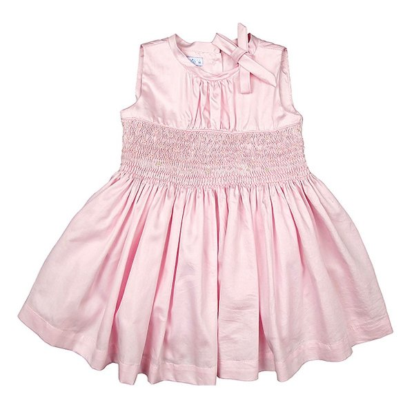 Vestido Luxo Infantil Bordado Pérolas Anna
