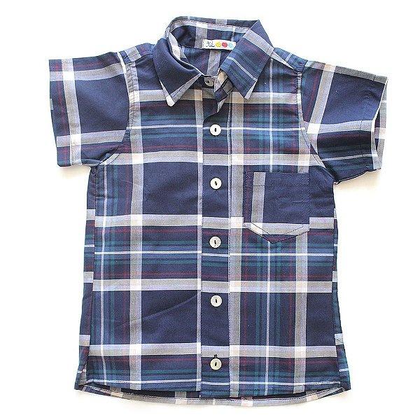 Camisa de Botão Xadrezinha
