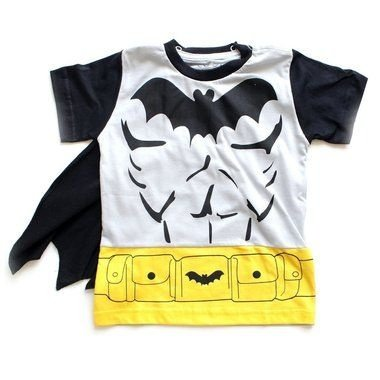 T-shirt Batman com Capa