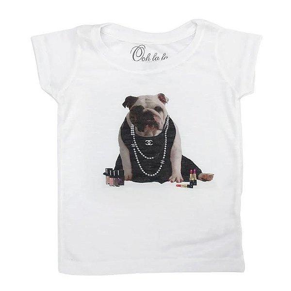T-shirt Flamê Bulldog Chanel