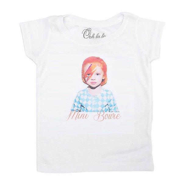 T-shirt Flamê Mini Bowie