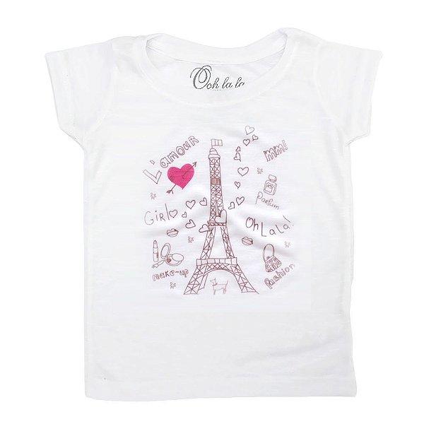 T-shirt Flamê Torre Eiffel