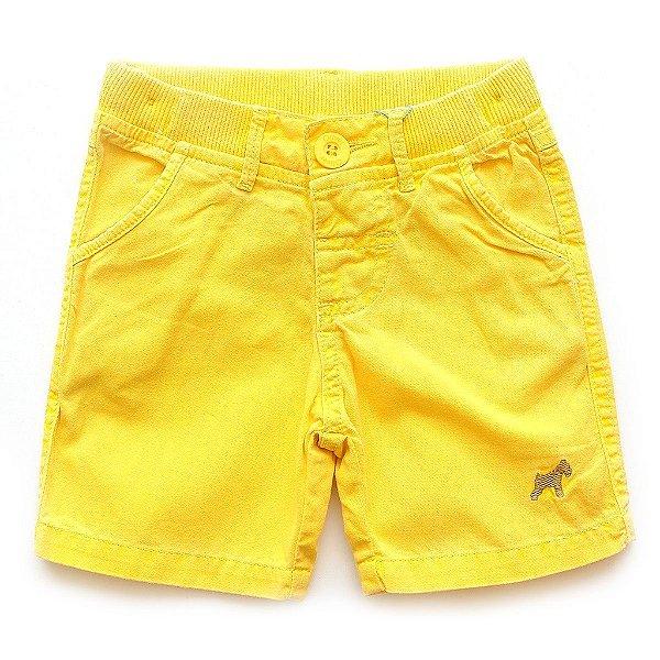 Bermuda Color Amarelo Banana