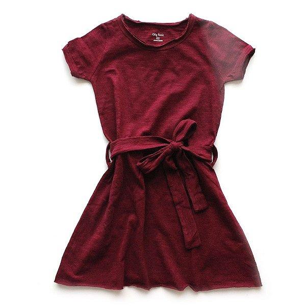 Vestido Flamê Colors Bordeaux