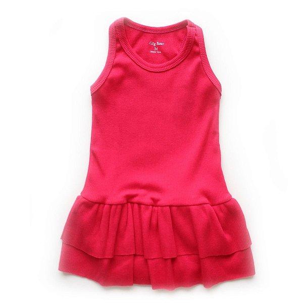 Vestido Body Basiquinho Pink