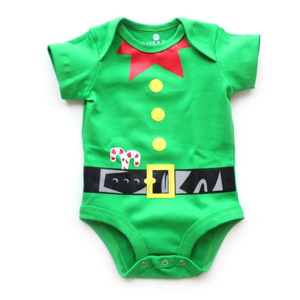 Body Elfo do Papai Noel