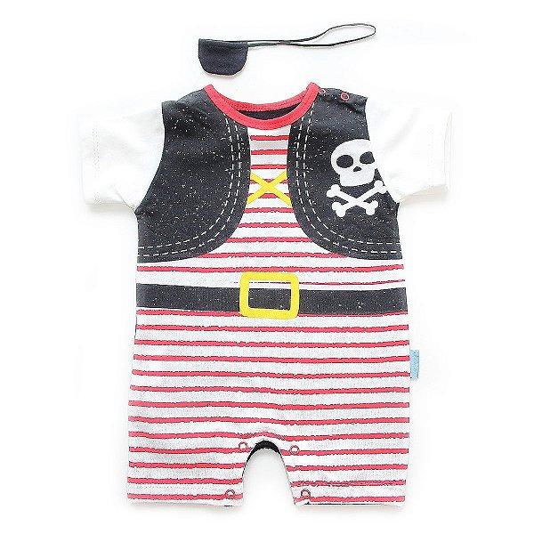 Fantasia Baby Piratinha