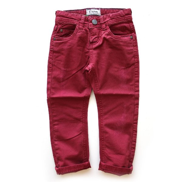 Calça Sarja Five Pockets Red