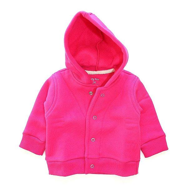 Casaco Moletom Capuz Pink