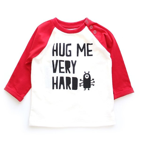 T-shirt Manga Longa Hug Me
